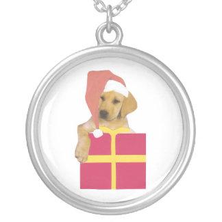 För Santa för valp för Labrador Retriever halsband