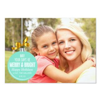 För sidahelgdag för prydnad fullt kort för foto 12,7 x 17,8 cm inbjudningskort