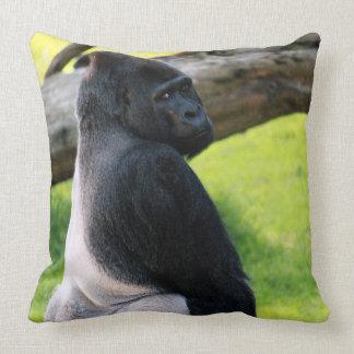 För Silverbackgorilla för Zoo djur gåva för Kudde