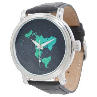 För Sjö--Stil för klassikerlägenhetjord armbandsur