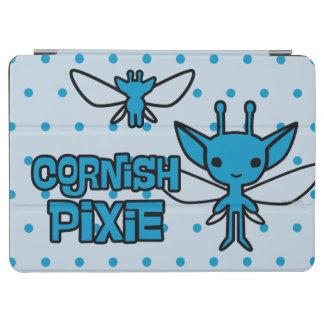 För skälmskt naturväxentecken för tecknad Cornish iPad Air Skydd
