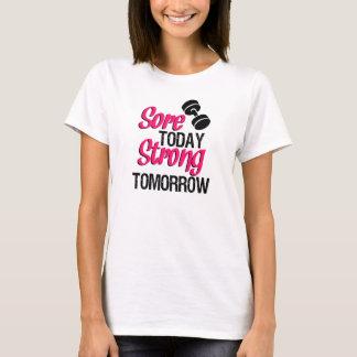 För skav skjorta för genomkörare för stark tee shirt