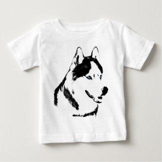 För skjortaSled för baby Husky T-tröja för Husky T-shirts