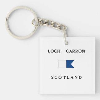 För Skottland för fjord Carron flagga för dyk