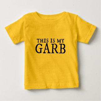 För skrudutslagsplats för baby rolig skjorta med t-shirt