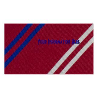 För slipstextil för vintage randiga visitkortar visitkort