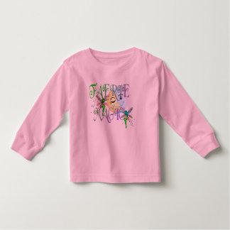 För småbarnlångärmad för älva magisk T-tröja Tee Shirt