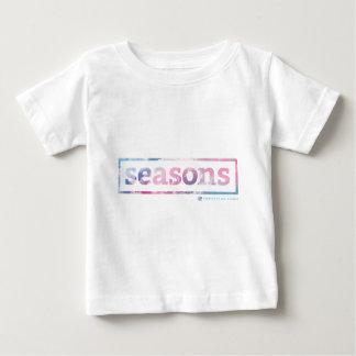 [för småbarnvit för säsonger] T-tröja Tshirts