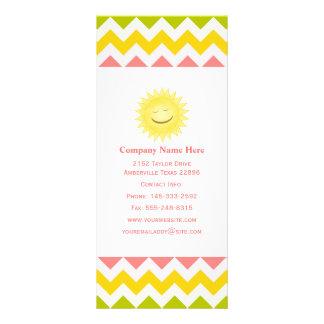För Smileysol för sommar pastellfärgade kort för