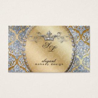 För smyckenMakeup för 311 mode kuttrande för krona Visitkort