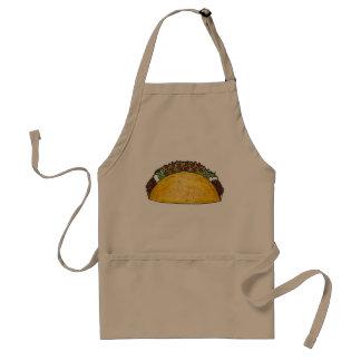 För snäckaTaco för mexicansk mat hårt Foodie för Förkläde