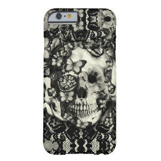 För snöreskalle för Victorian gotiskt mönster Barely There iPhone 6 Skal