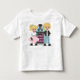 För sockaskutt för ungar blond T-tröja T Shirts