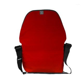 ~ för SOLNEDGÅNG (gul orange aftonfärg bleknar) Messenger Bag