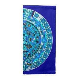För solsymbol för Mayan Maya Aztec ~ för servetter