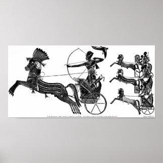 För Sonskrig för kung Ramesses II affisch för