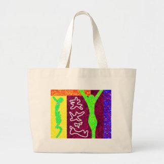 ~ för Soul~-modern konst Jumbo Tygkasse