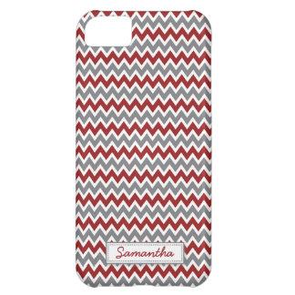 för sparremönster för iPhone 5 (rödbrunt) iPhone 5C Fodral