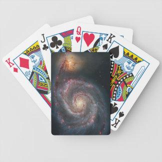 För spiralgalax för bubbelpool M51 NASA Spelkort