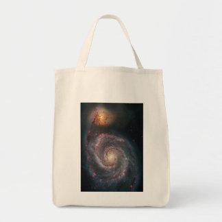 För spiralgalax för bubbelpool M51 NASA Tygkasse