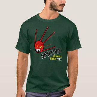 för sputnik för klassiker röd t-skjorta mörk tshirts