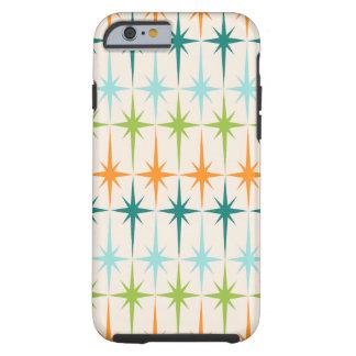 För Starbursts för vintage geometriskt fodral Tough iPhone 6 Fodral