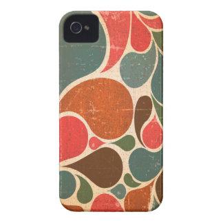 För stilblackberry bold för vintage Retro fodral iPhone 4 Case