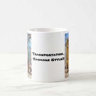 För stilkaffe för transport hawaiansk mugg