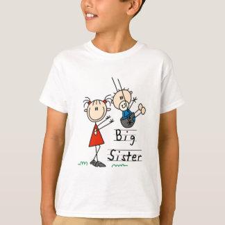 För storasyster broderT-tröja och gåvor lite T Shirt