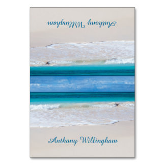 För strandbröllop för kust- Vows Tented kort för