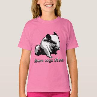 För summa Nom Ergo flicka Hanes TAGLESS® T-tröja T Shirt