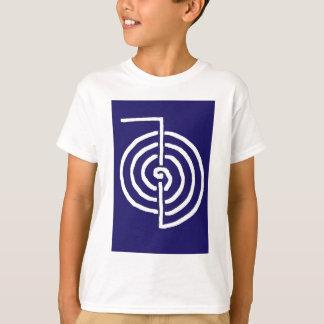 För symbolMALL för CHOKUREI Reiki grundläggande T Shirt