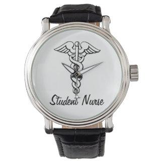 För symbolsjukvård för Caduceus medicinsk student Armbandsur