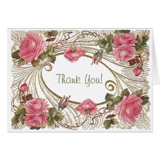 För tackkort för klassikern noterar det rosa OBS kort