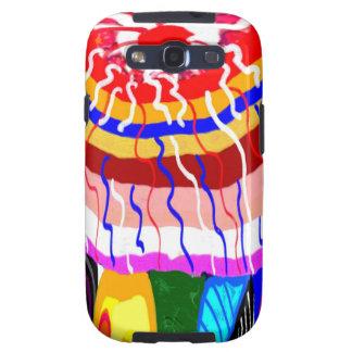 För TÄLTmarkis för festival dekorativ parasoll för Galaxy S3 Skydd