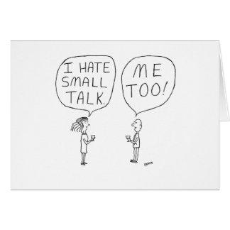För tecknadfödelsedag för litet samtal kort