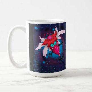 För TECKNADklassiker för MYGGA 2 GULLIG FRÄMMANDE Kaffemugg