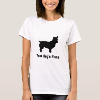 För Terrierオーストラリアン för personlig australiensisk T-shirts