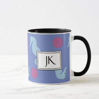 För textilkaffe för Seahorse Oceanic mugg