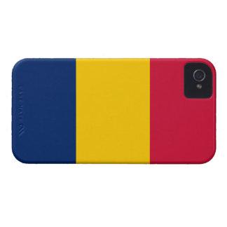 För There™ för Tchad flagga knappt fodral iPhone 4 iPhone 4 Case-Mate Cases