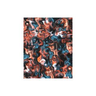 för toppen abstrakt swirly canvastryck