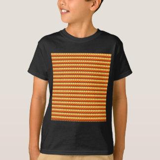 För triangelgnistra för NVN19 NavinJOSHI orange Tee Shirts