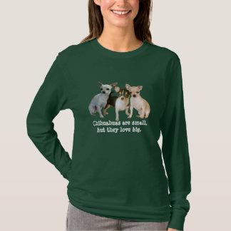 För Triodamer för Chihuahua lycklig skjorta Tröja