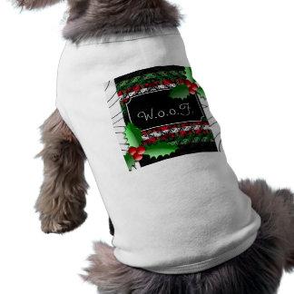 För tröjahund för gullig personlig ful skjorta för husdjurströja