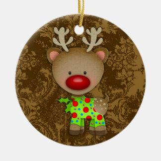 För tröjaprydnad för GC ful ren Rund Julgransprydnad I Keramik