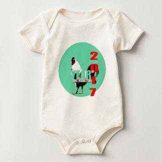 För tuppår för baby bördig babysuit 2017 bodies för bebisar