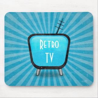 För TVtelevision för vintage Retro affisch Mus Mattor