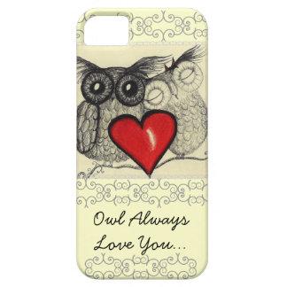 För uggla kärlek alltid dig iPhone 5 skal