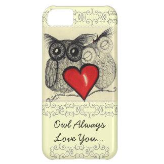 För uggla kärlek alltid dig iPhone 5C fodral