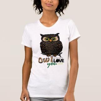 För UGGLA KÄRLEK alltid dig XOXO T-shirt